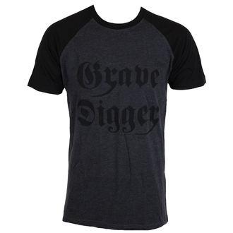 tee-shirt métal pour hommes Grave Digger - Charcoal/Black - NNM, NNM, Grave Digger