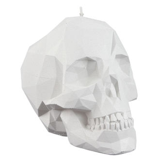 Bougie Crâne - White