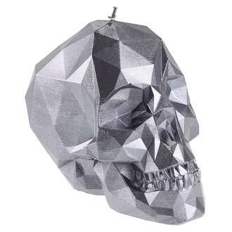 Bougie Crâne - Steel