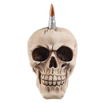crâne (boîte) Crâne avec balles