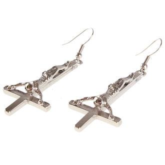 Boucle d'oreille croix- PSY439