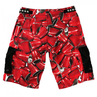 Short pour des hommes (nager short) METAL MULISHA - CUPS, METAL MULISHA