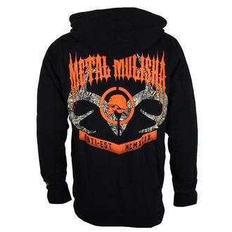sweat-shirt avec capuche pour hommes - DUSK - METAL MULISHA, METAL MULISHA