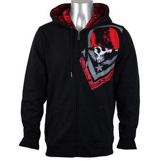 sweat-shirt avec capuche pour hommes - TRUSTY CUSTOM - METAL MULISHA - BLK_SP7510003.01