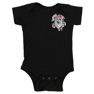 Body d'enfant METAL MULISHA - BABY GIRL ONESIE - BLK, METAL MULISHA