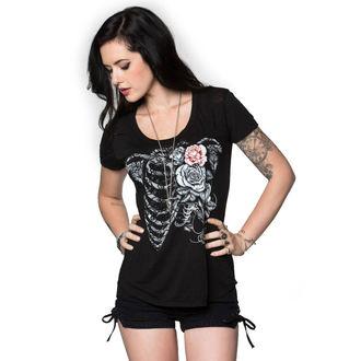 tee-shirt street pour femmes - HEARTLESS BURNOUT - METAL MULISHA, METAL MULISHA