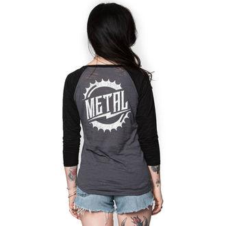 tee-shirt street pour femmes - RIDER BURNOUT - METAL MULISHA, METAL MULISHA