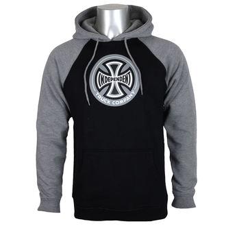 sweat-shirt avec capuche pour hommes - 88 TC Raglan Black/ Dark Heather - INDEPENDENT, INDEPENDENT