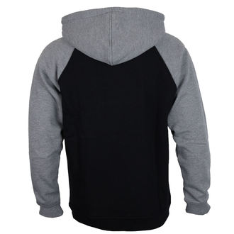 sweat-shirt avec capuche pour hommes - 88 TC Raglan Black/ Dark Heather - INDEPENDENT, INDEPENDENT