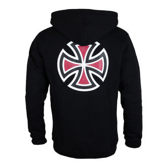 sweat-shirt avec capuche pour hommes - Bar Cross Black - INDEPENDENT, INDEPENDENT