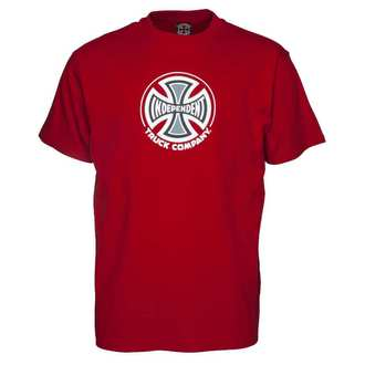 tee-shirt street pour hommes - Truck Co Cardinal Red - INDEPENDENT, INDEPENDENT
