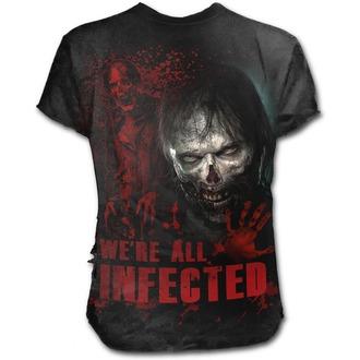 t-shirt de film pour hommes The Walking Dead - ZOMBIE - SPIRAL, SPIRAL