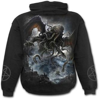 sweat-shirt avec capuche pour hommes - CTHULHU - SPIRAL - L029M451