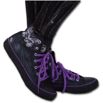 chaussures de tennis montantes pour femmes - BRIGHT EYES - SPIRAL