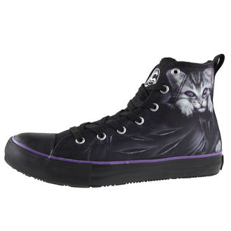 chaussures de tennis montantes pour hommes pour femmes - BRIGHT EYES - SPIRAL, SPIRAL