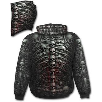 sweat-shirt avec capuche pour hommes - DEATH RIBS - SPIRAL - W027M459