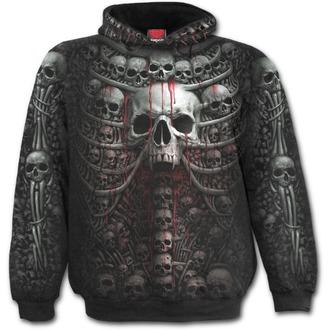 sweat-shirt avec capuche pour hommes - DEATH RIBS - SPIRAL, SPIRAL