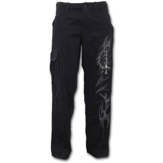 pantalon hommes SPIRAL - TRIBAL CHAIN - Noir, SPIRAL