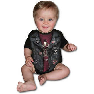 Body  d'enfant SPIRAL - BABY BIKER - Noir, SPIRAL