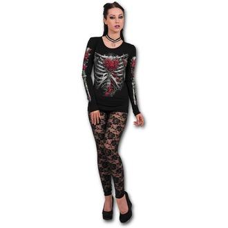 t-shirt pour femmes - ROSE BONES - SPIRAL, SPIRAL