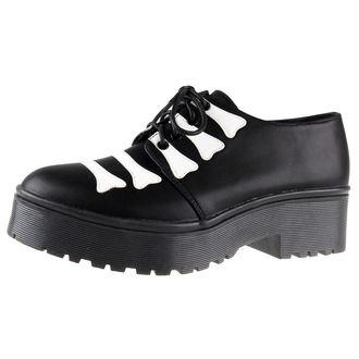 chaussures à semelles compensées pour femmes - Wishbone Cleated Sole Flat - IRON FIST, IRON FIST