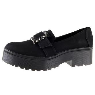 chaussures à semelles compensées pour femmes - Nocturnal Cleated Sole Flat - IRON FIST, IRON FIST