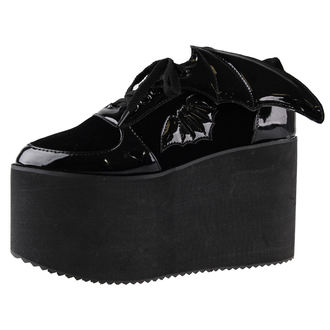 chaussures à semelles compensées pour femmes - Creature Of The Night Flatform - IRON FIST, IRON FIST