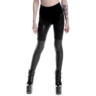 pantalon femmes (leggings) KILLSTAR - Metal Descent - Noir