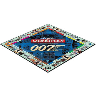 Planche Jeu 007 James Bond - Monopoly, NNM