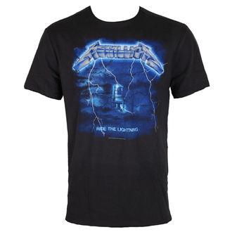 tee-shirt métal pour hommes Metallica - METALLICA - AMPLIFIED, AMPLIFIED, Metallica