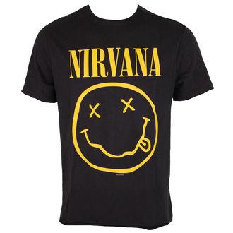 tee-shirt métal pour hommes Nirvana - NIRVANA - AMPLIFIED, AMPLIFIED, Nirvana