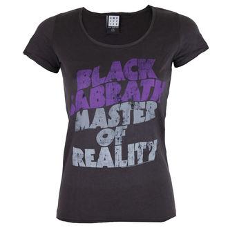 tee-shirt métal pour femmes Black Sabbath - BLACK SABBATH MASTER OF REALITY - AMPLIFIED, AMPLIFIED, Black Sabbath