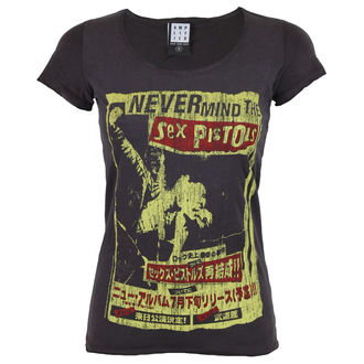 tee-shirt métal pour femmes Sex Pistols - SEX PISTOLS - AMPLIFIED, AMPLIFIED, Sex Pistols