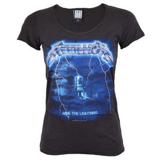 tee-shirt métal pour femmes Metallica - METALLICA - AMPLIFIED, AMPLIFIED, Metallica