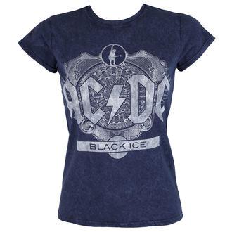 tee-shirt métal pour femmes AC-DC - Black Ice - ROCK OFF, ROCK OFF, AC-DC