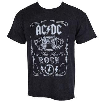 tee-shirt métal pour hommes AC-DC - Cannon Swig - ROCK OFF, ROCK OFF, AC-DC
