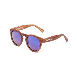 lunettes de soleil MEATFLY - Lunaris - E - marron / Bois, MEATFLY