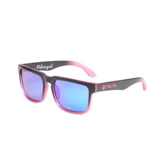 lunettes de soleil MEATFLY - Viper - B - Rose / Noir Polarisé, MEATFLY
