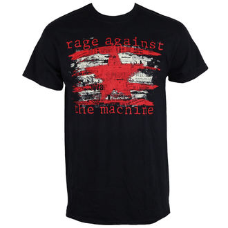 tee-shirt métal pour hommes Rage against the machine - Newspaper Star -, Rage against the machine