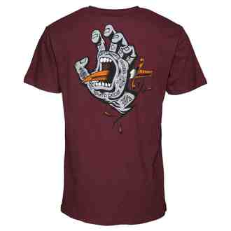tee-shirt street pour hommes - Flash Hand Colour - SANTA CRUZ, SANTA CRUZ