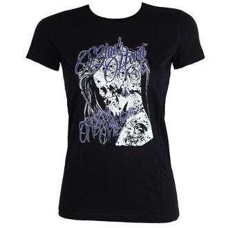 tee-shirt street pour femmes - PUNK - BLACK HEART, BLACK HEART