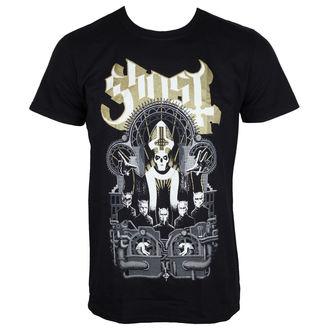 tričko pánské Ghost - Wegner - Black - ROCK OFF - GHOTEE15MB