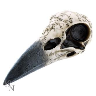 décoration Crâne du corbeau d'Edgar
