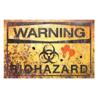 panneau 'Danger Radioactif'