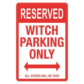 panneau 'Réservé aux sorcières'