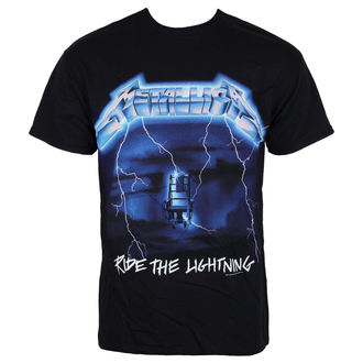 tee-shirt métal pour hommes Metallica - Ride The Lightening -, Metallica