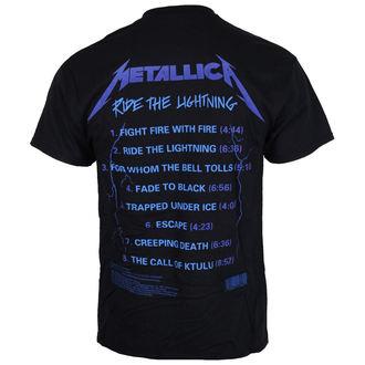 tee-shirt métal pour hommes Metallica - Ride The Lightening -, Metallica