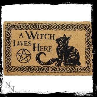 paillasson 'Une sorcière vit ici', NNM