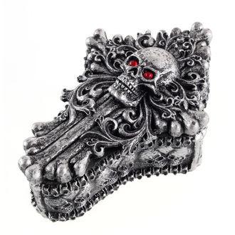 boîte (décoration) 'Crâne fossilisé'