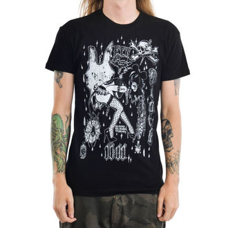 tee-shirt gothic et punk pour hommes - MOUSEY - TOO FAST, TOO FAST